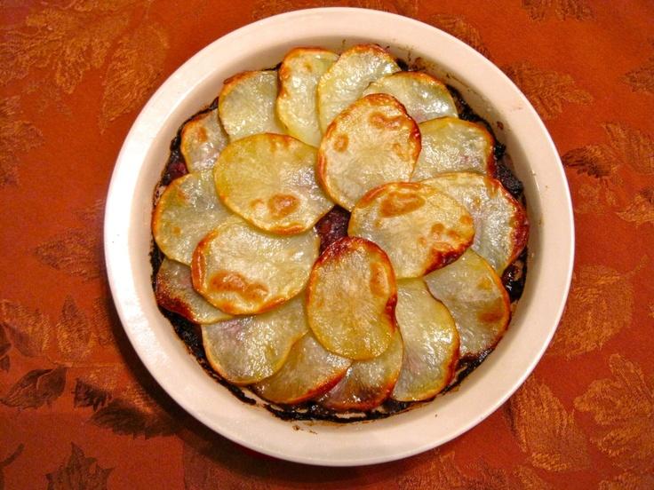Braised Short Rib, Stout, and Potato Potpie.