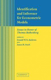 Econometric essay honor identification in inference model rothenberg thomas