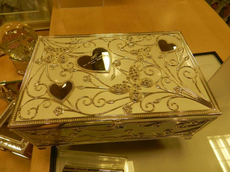 A beautiful jewelry box at things remembered that can be for Things remembered jewelry box