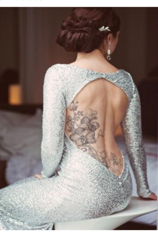 Pin by leanne northcutt on wedding dresses attire looks for Tattoos and wedding dresses