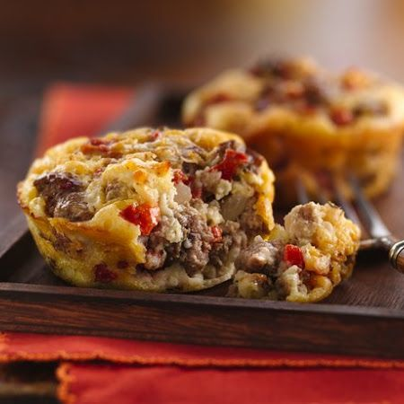 Impossibly Easy Mini Greek Burger Pies | Beef | Pinterest
