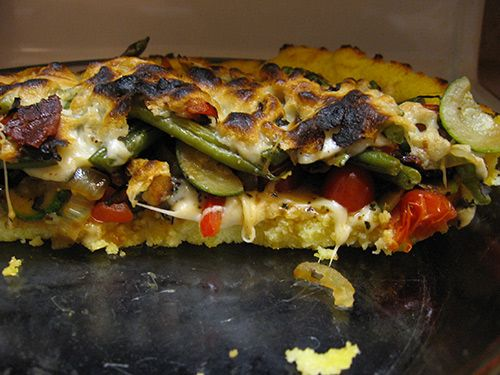 Polenta Pie With Cheese and vegetables | Food I daydream about | Pint ...