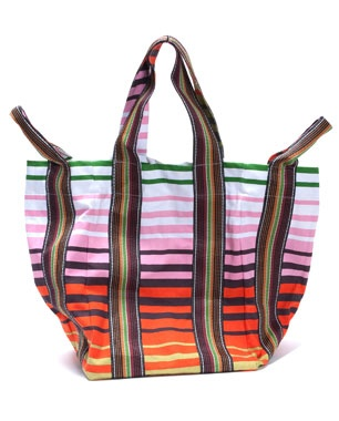 Classic Love // large striped tote bag #tote