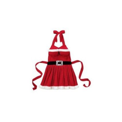 Mrs. Santa Claus Sassy Christmas Apron | Cook in Style | Pinterest