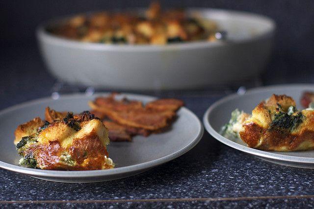Spinach and Cheese Strata - Smitten Kitchen