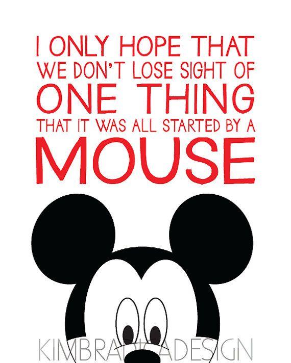 Mouse Walt Disney Quotes. QuotesGram