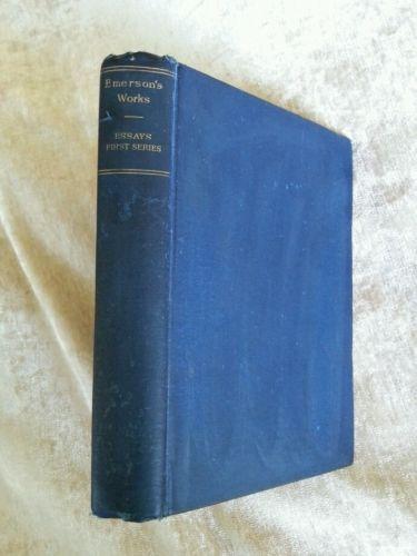 ralph waldo emerson essays and books