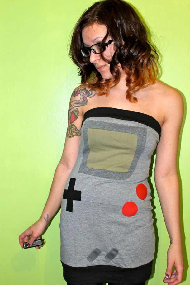 Game Boy dress