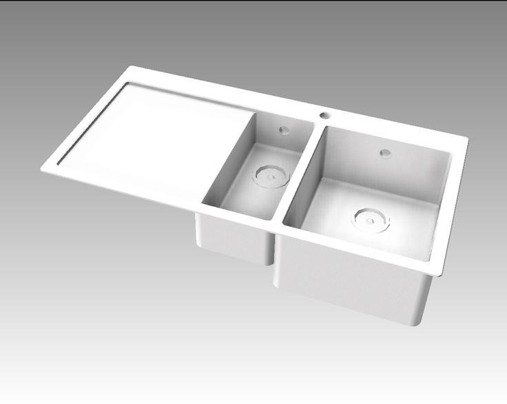 Blanco Claron sink 6 S-IF kitchens Pinterest