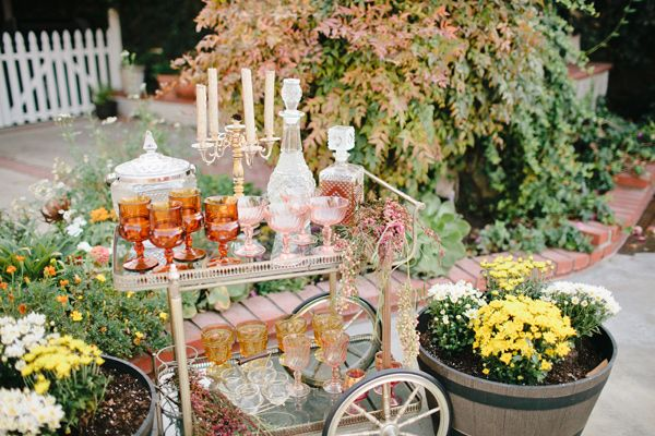 Garden Romance Wedding Inspiration