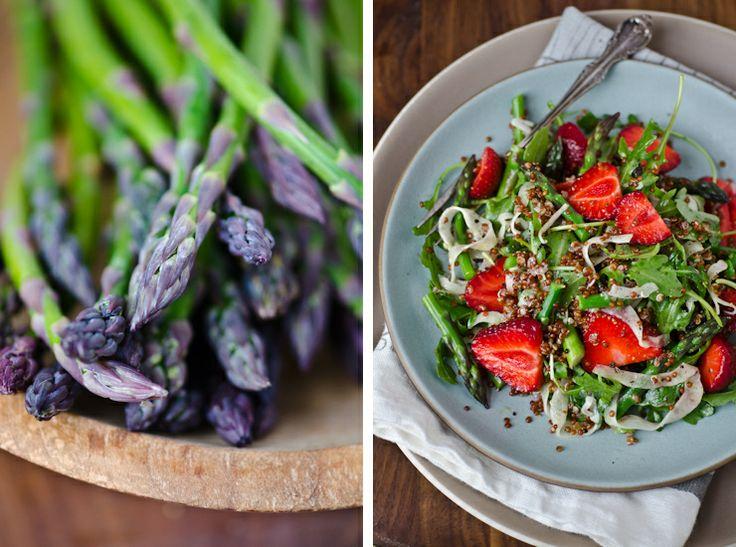 Roasted Strawberry And Asparagus Quinoa Salad Recipes — Dishmaps