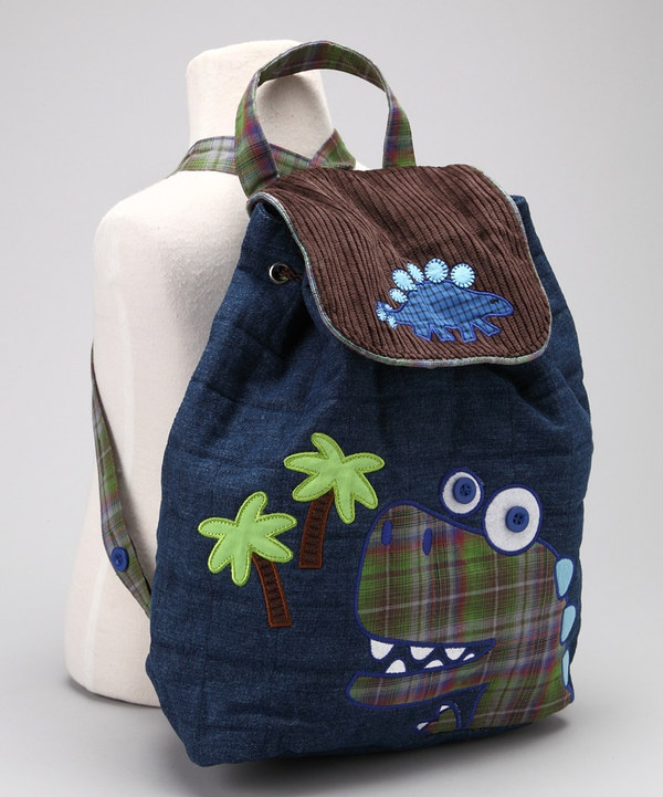 Take a look at this Dinosaur Signature Quilted Backpack on zulily ...