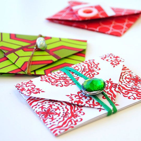 origami gift card holders stashbusters paper amp book
