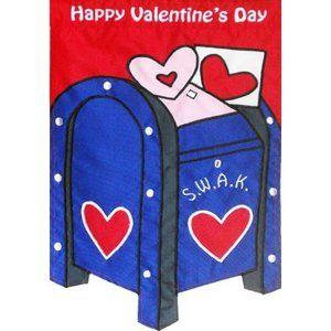 valentines flag