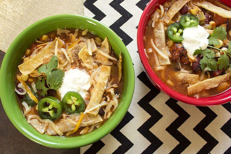 Skinny Crock Pot Chicken Tortilla Soup | Skinny Mom | Where Moms Get ...