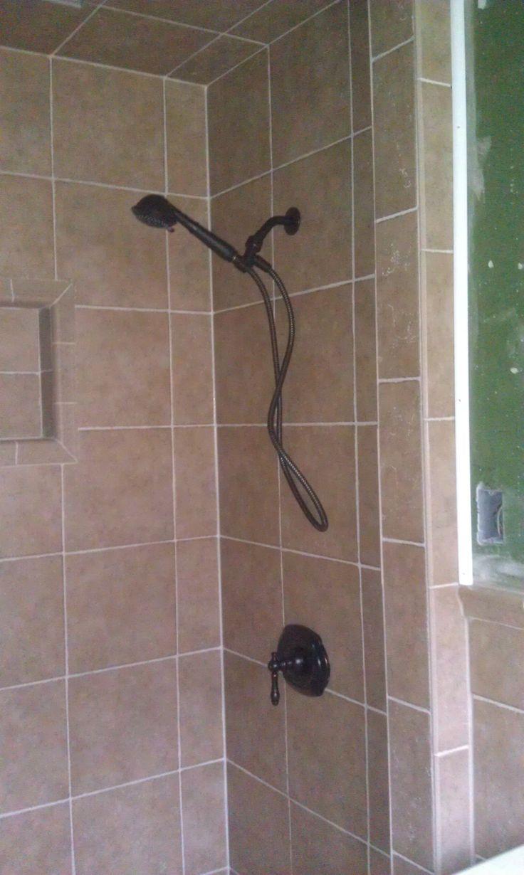Shower Tile Bathroom Tile Pinterest