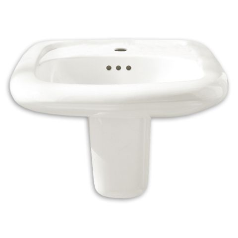 American Standard Ada Sinks : American Standard Murro Universal Design EverClean Wall Mounted Sink ...