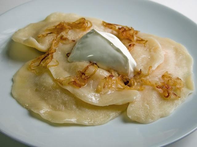 Pierogi with Potato & Cheese Filling | FOOD | Pinterest