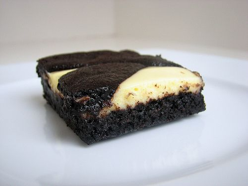 Tracey's Culinary Adventures: Black-and-White Cheesecake Bars