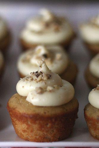 Maple Walnut Cupcakes | Muffins/Cupcakes | Pinterest