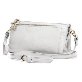 Zenith Leather Crossbody Bag 86