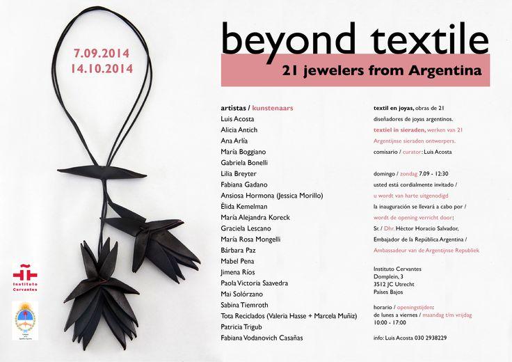 """""""Beyond Textile"""" - Utrecht"""