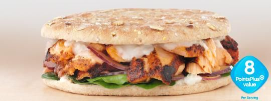 ... Sandwich Thins Creations Recipes | Blackened Salmon Sandwich This