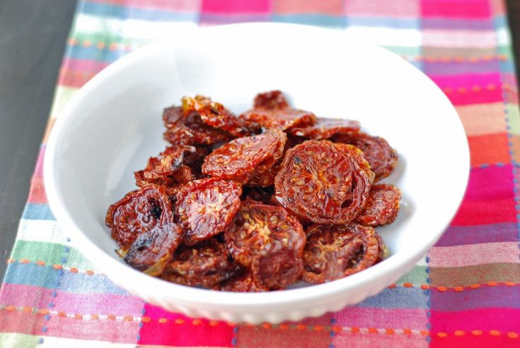 slow roasted tomatoes (dehydrated) | dried food | Pinterest