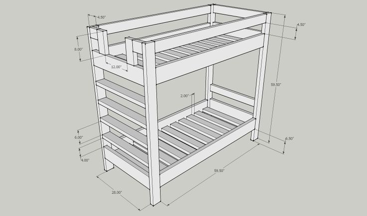 ... DIY Bunk Bed Plans | kreg jig bunk bed plans kreg jig bunk bed plans
