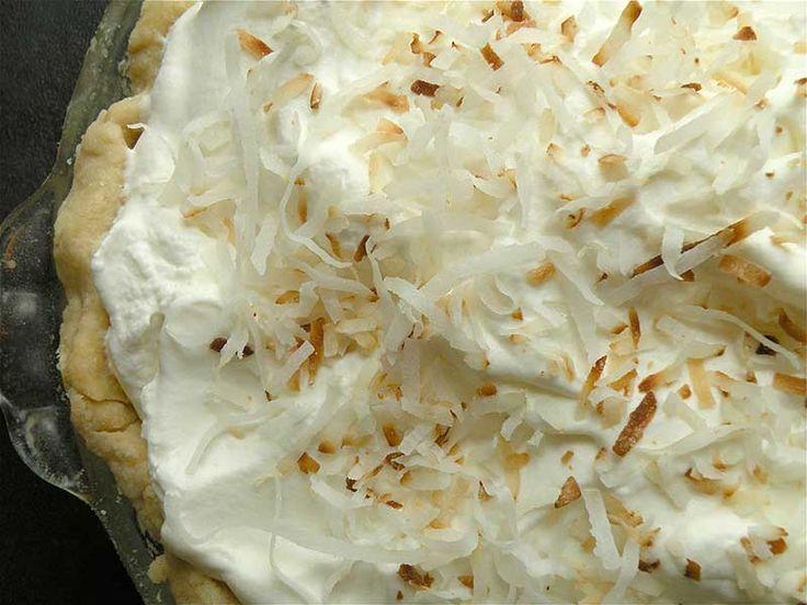 Coconut Custard Pie | Desserts | Pinterest