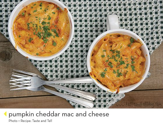 15 Different Mac n Cheese Recipes like this Pumpkin Cheddar / Taste ...