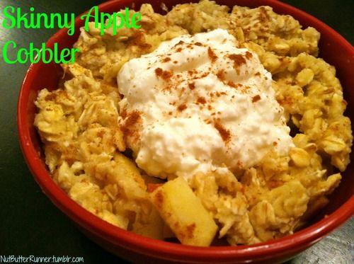Skinny Apple Cobbler | Healthy Snacking | Pinterest