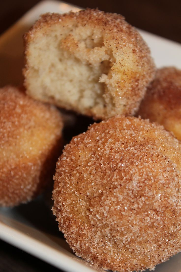 Cinnamon Sugar Doughnut Muffins. | Blog | Pinterest