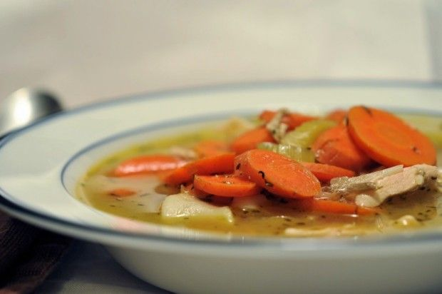 Roasted Vegetable Chicken Noodle Soup | Soup's . On | Pinterest