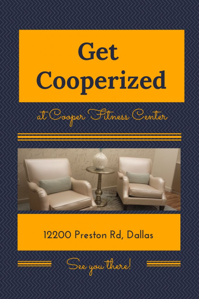 Get Cooperized at Cooper Fitness Center. #health #fitness #dallas