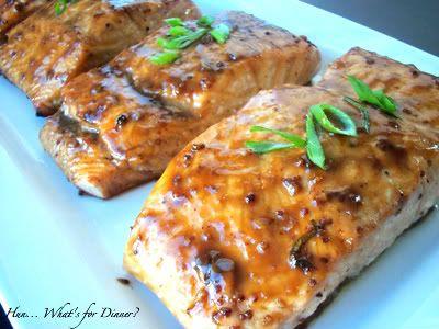 Balsamic Glazed Salmon | Favorite Recipes | Pinterest