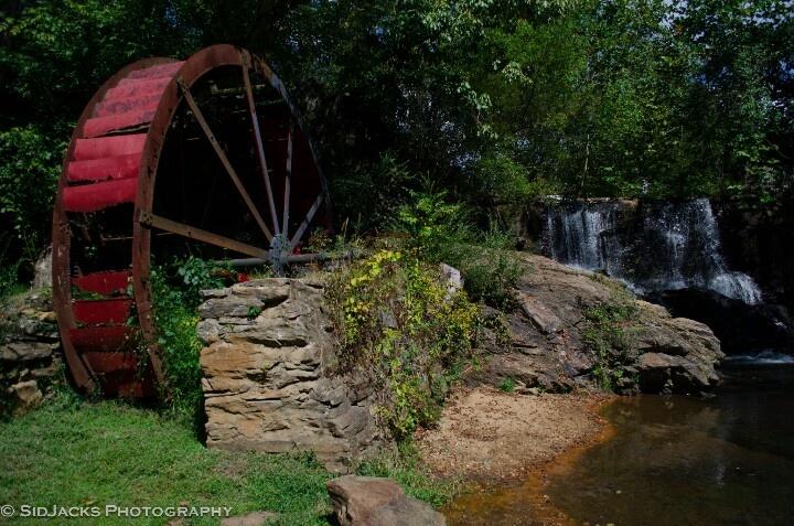 Waterwheel in Asheville, NC