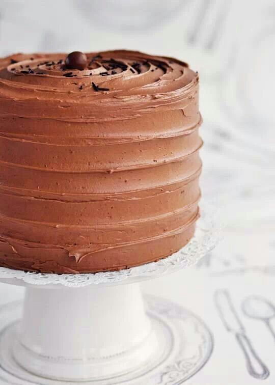 Malted marshmallow chocolate cake | chocolate | Pinterest
