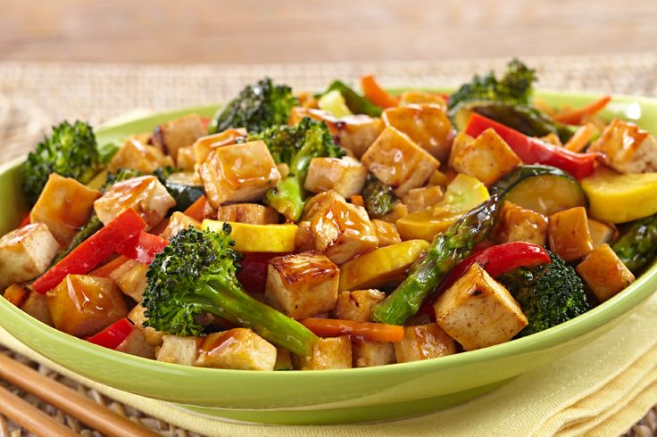 Tofu Stir Fry | Quick & easy Dinners | Pinterest