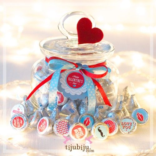 hershey's valentine's day candy nutrition