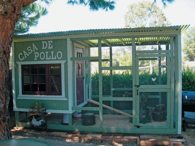 Chicken coops for the love of chickens pinterest for Fancy chicken coops