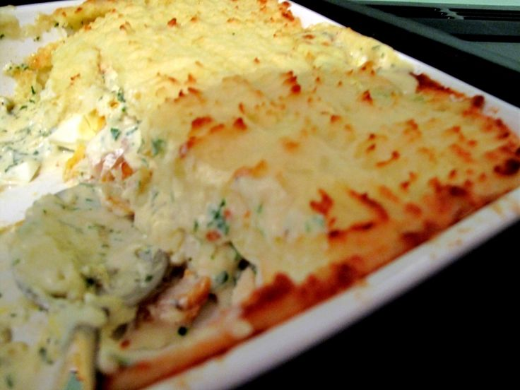 how to make easy fish pie