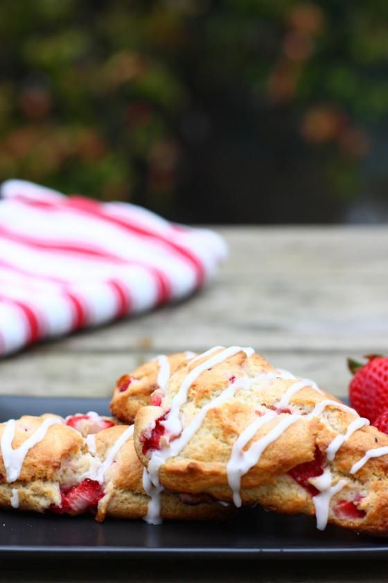 Whole Grain Strawberry Pop Tart Scones by Eat Live Run. They're whole ...