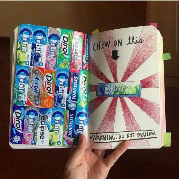 Как сделать штуки для дневника 164
