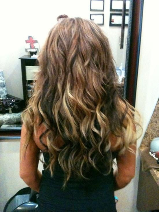 Low lights and high lights beach waves | Hair styles,cuts,colors, and ...