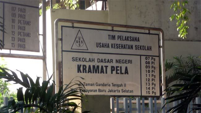 How many schools are in this address?  Yeah, there are nine elementary schools. The school complex  is located in Gandaria, Jakarta.