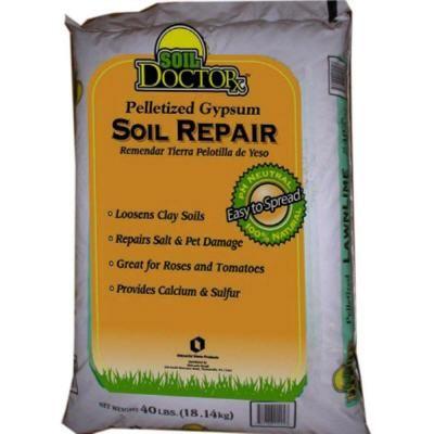 40 Lb Pelletized Gypsum Soil Repair Garden Pinterest