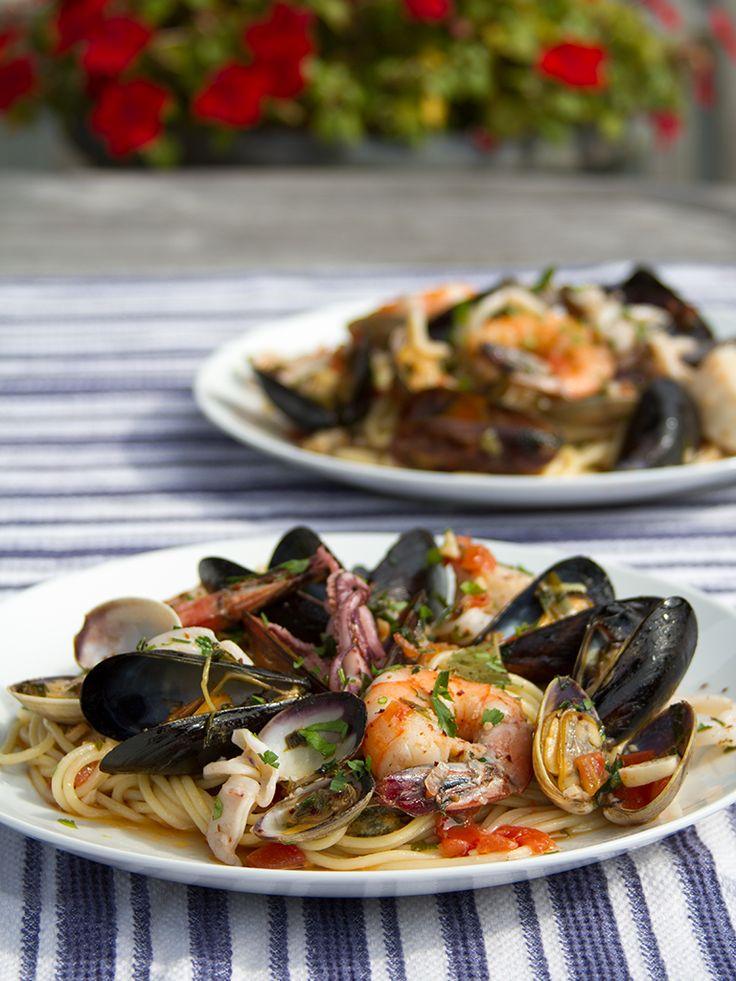 Spaghetti Frutti di Mare | Go Italian | Pinterest