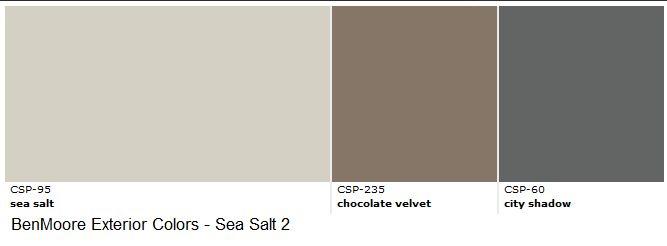 Benjamin Moore Exterior Paint Sea Salt Exteriors Pinterest