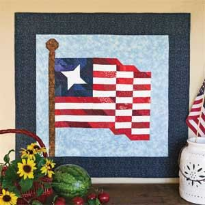 4th of july quilt pattern